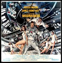 Moonraker original 6 sheet