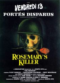 Rosemary's Killer French poster