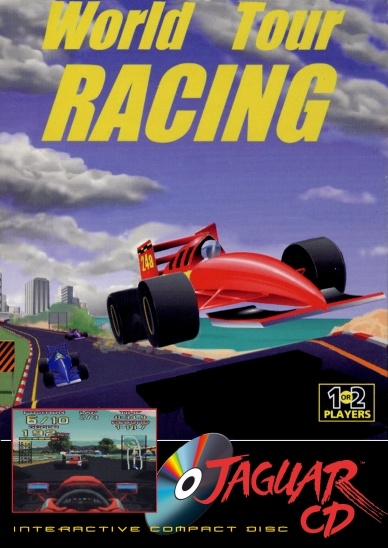 World Tour Racing Atari Jaguar CD