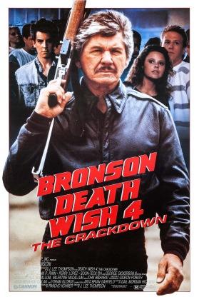 Death Wish 4 poster