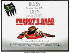 Freddy's Dead quad