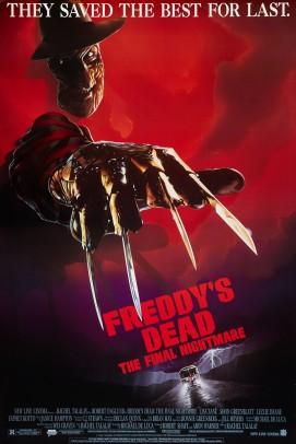 Freddy's Dead UK poster