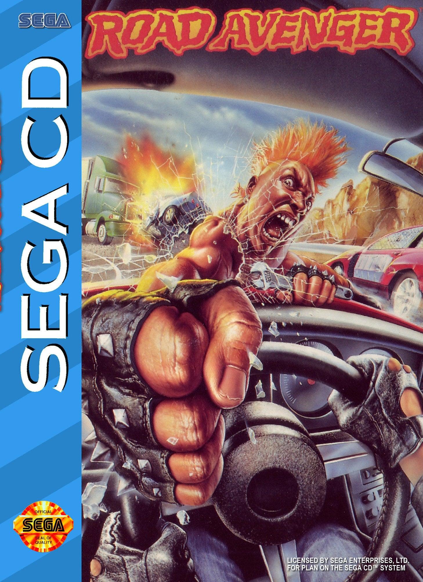 Road Avenger (1993) – Sega CD – VHS Revival