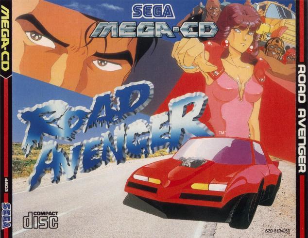 Road Avenger UK cover