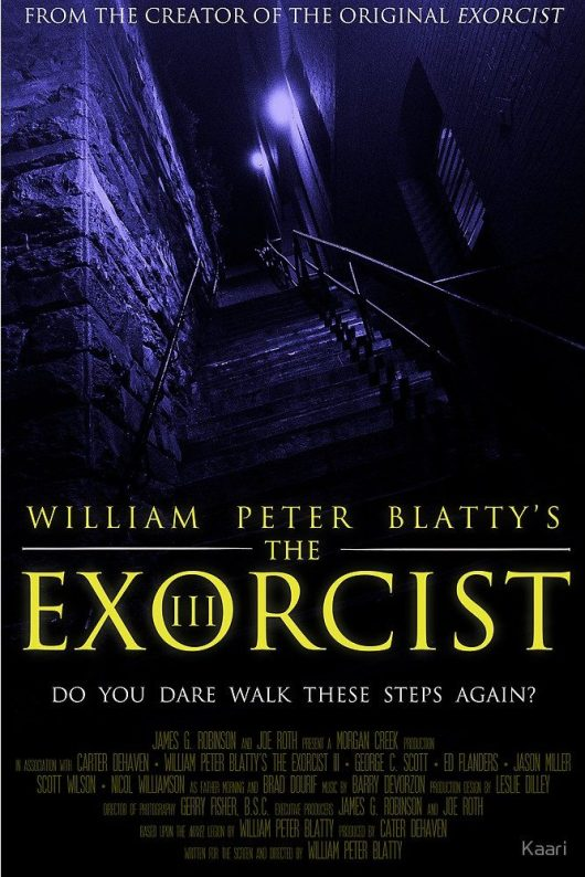 The Exorcist III alternate poster 2
