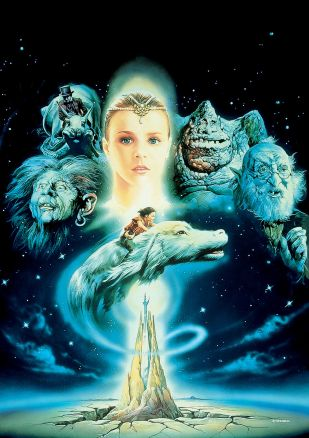 The Neverending Story original artwork