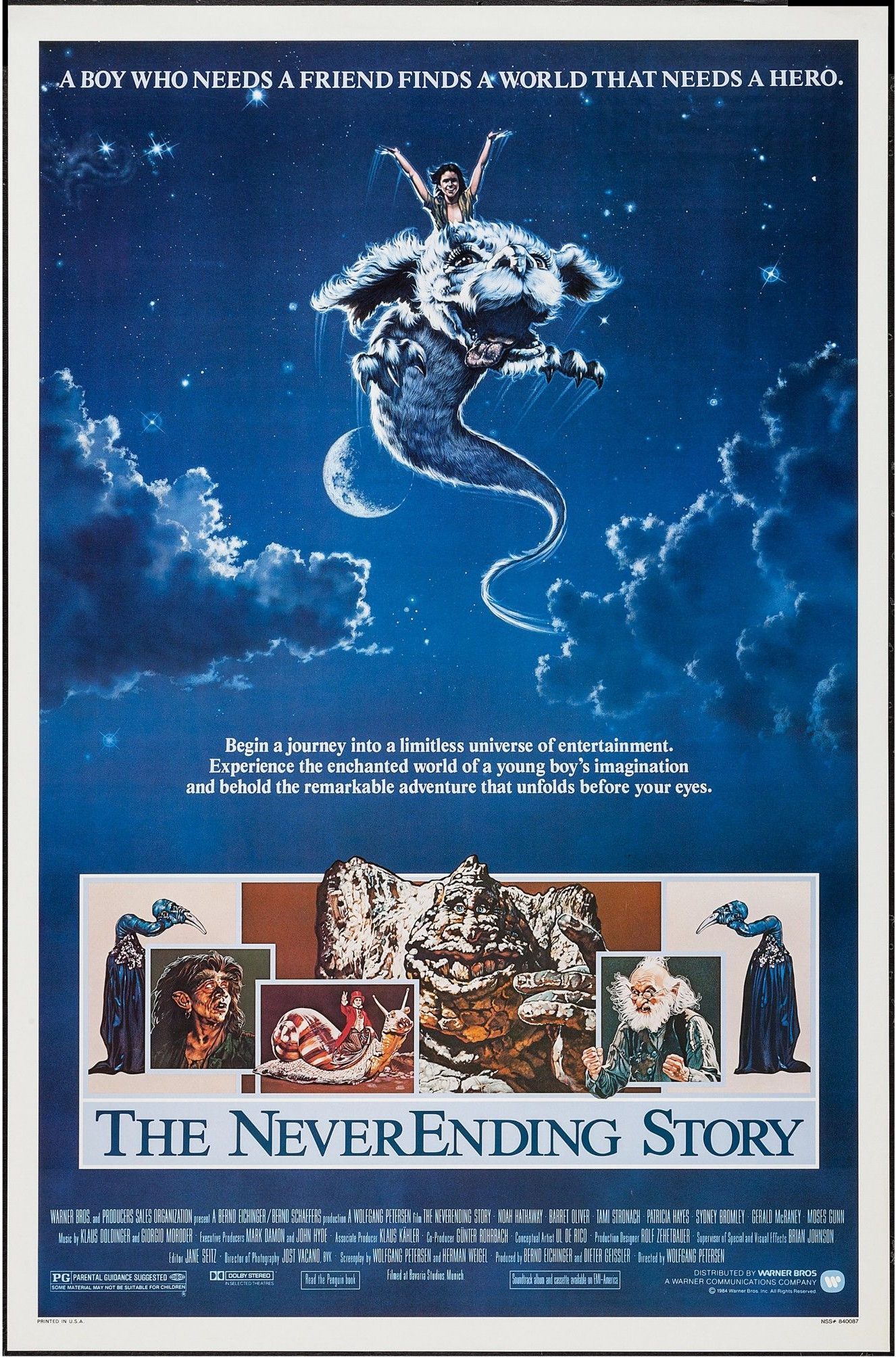 Preteen Existentialism: Two Boys, One Horse and A Neverending Story
