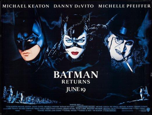 Batman Returns teaser quad