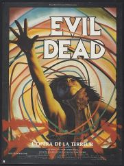 The Evil Dead French poster