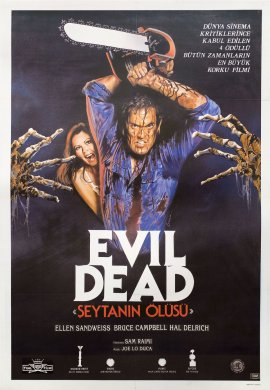 The Evil Dead Turkish poster