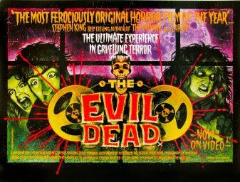 The Evil Dead UK quad
