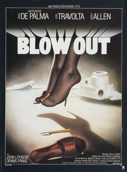 Blow Out French poster