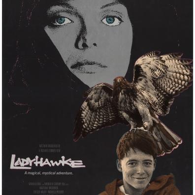 Ladyhawke 1985 poster