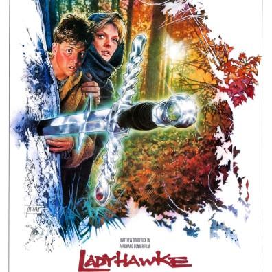 Ladyhawke alternate poster