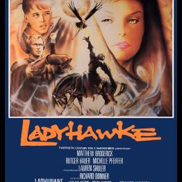 Ladyhawke Italian poster