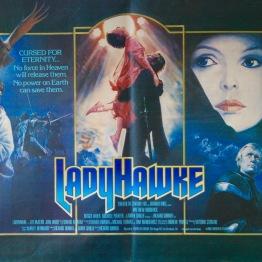 Ladyhawke quad poster