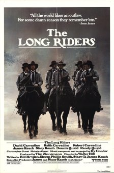 The Long Riders alternate poster