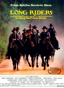 The Long Riders French poster 2