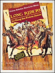 The Long Riders French poster
