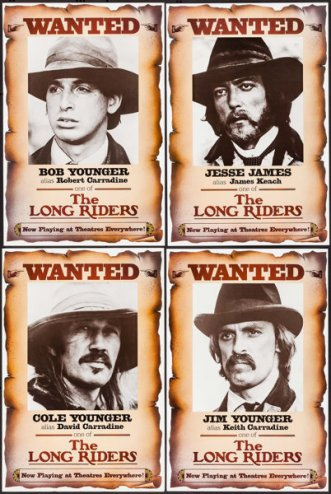The Long Riders set of 8 2