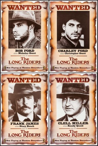 The Long Riders set of 8