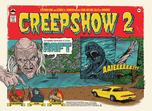 Creepshow 2 Waxwork Records subscription poster