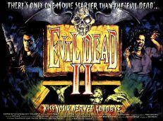 Evil Dead II UK quad