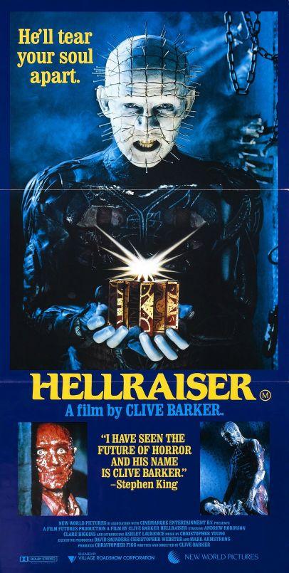 Hellraiser UK poster