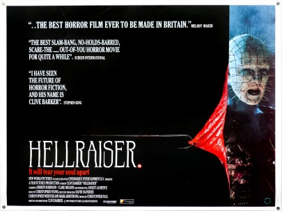 Hellraiser UK quad
