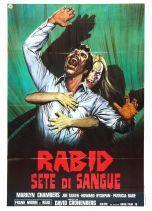 Rabid Italian poster