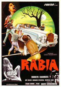 Rabid Spanish poster