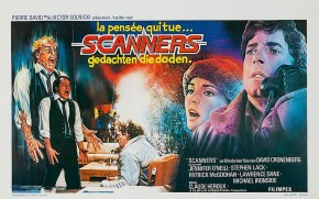 Scanners Dutch poster