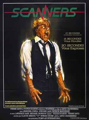 Scanners French poster