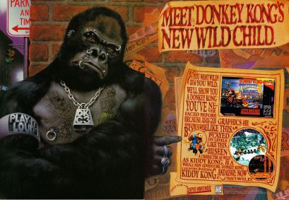 Donkey Kong Country 3 ad