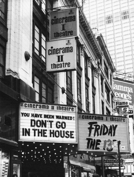 Don't Go in the House cinema