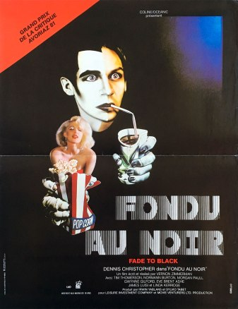 Fade to Black French poster