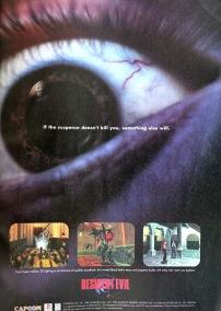 Resident Evil ad Sony