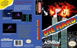 Die Hard NES cover