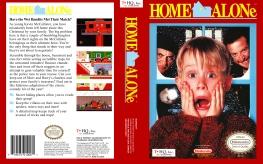 Home Alone NES cover