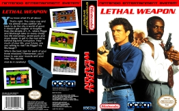 Lethal Weapon NES cover