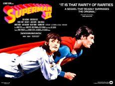 Superman II quad poster