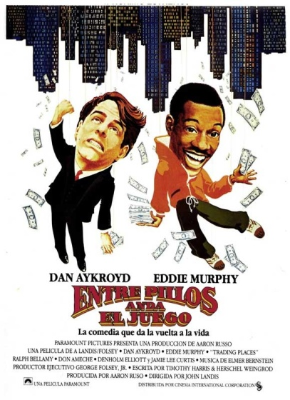 Trading Places Spanish poster