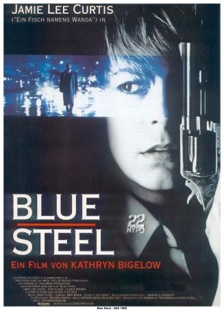 Blue Steel German poster