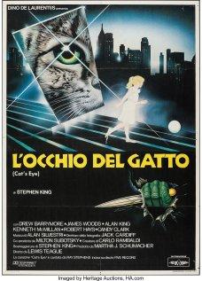 Cat's Eye Italian poster