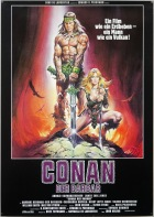 Conan the Barbarian German poster