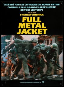 Full Metal Jacket French poster