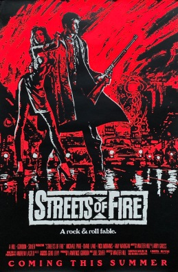 Streets of Fire alternate poster 2