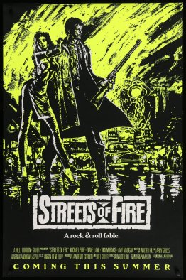Streets of Fire alternate poster
