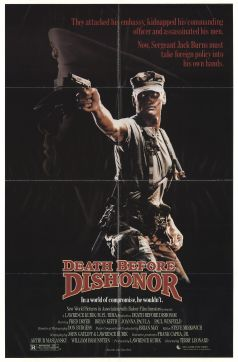Death Before Dishonour poster
