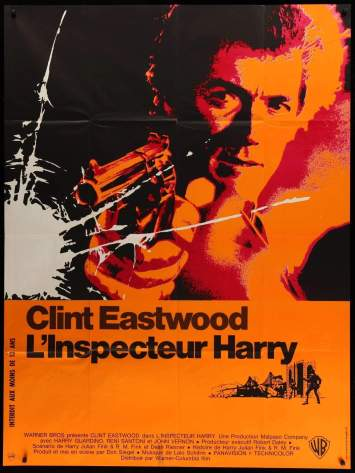 Dirty Harry French poster